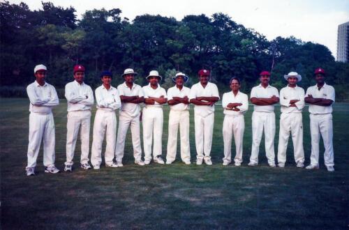 1998 Cricket Match