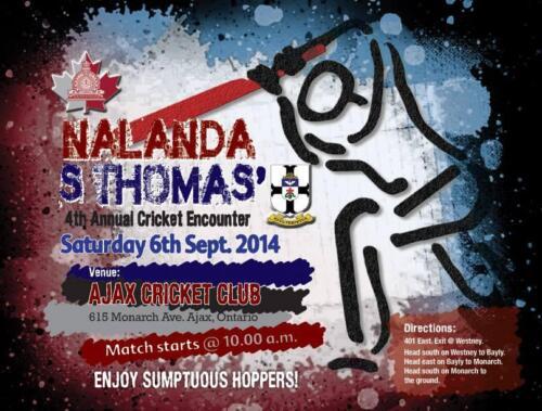 2014 St Thomas Cricket Match
