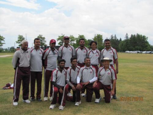 2016 Cricket Match