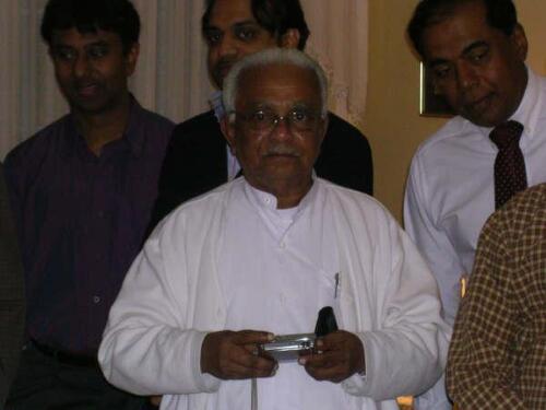 2007 A.T. Ariyaratne Visit